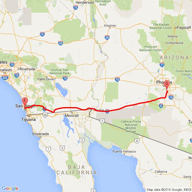 Phoenix-San Diego