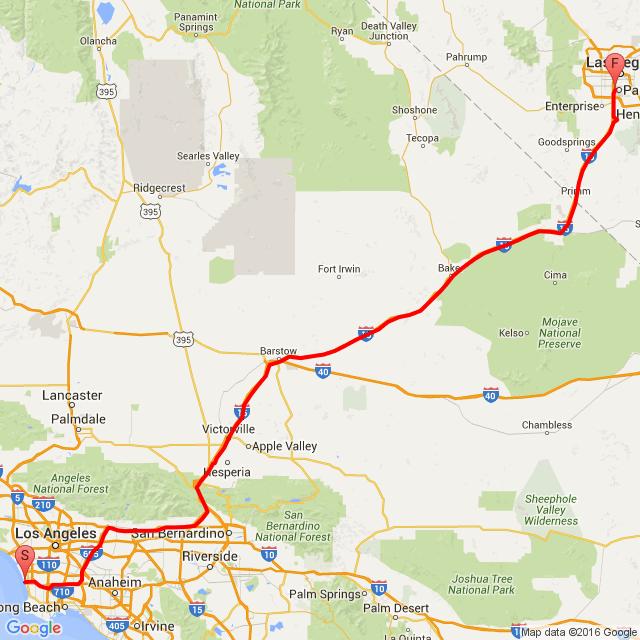 Los Angeles - Las Vegas