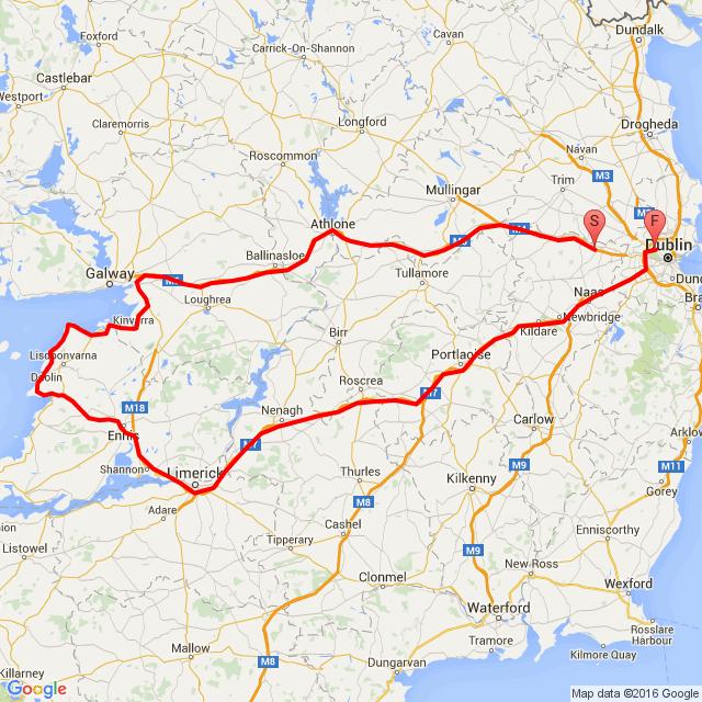 Dublin -Cliffs of moher tour