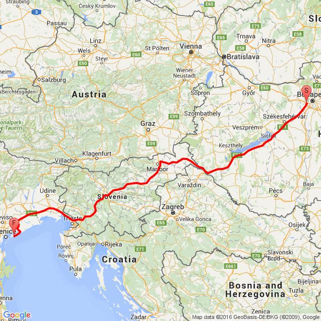 20160513 Budapest - Cavallino Treporti