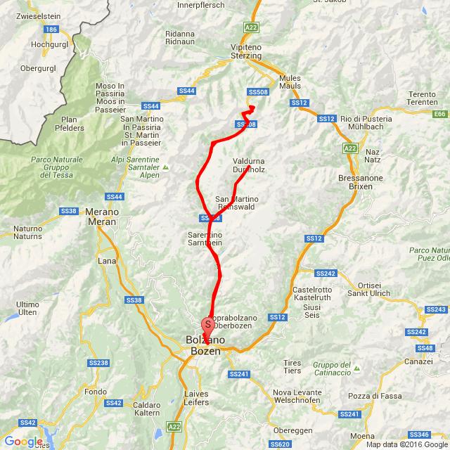 Bolzano- Durnholz- Penser Joch