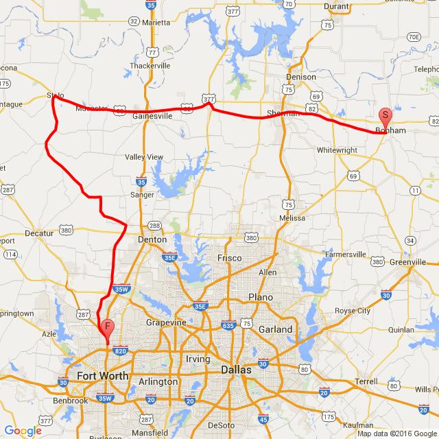 20160530 Bonham-Fort Worth