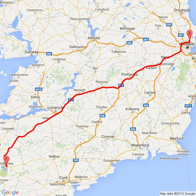 Road to bikefest