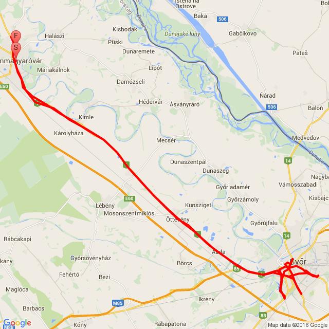 Győr össze vissza  :)