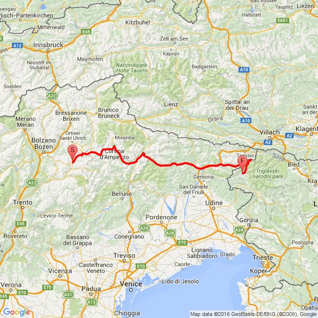Italy-Slovenia (Mangart)