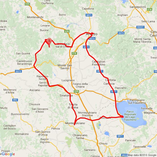20160711_ToscanaTourNo.1:Arezzo-Montepulciano