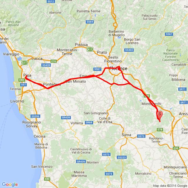 20160713_ToscanaTourNo.3: Pisa-Firenze