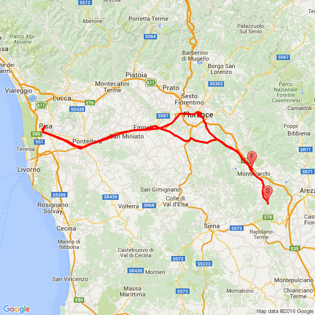 Toscana 4. nap