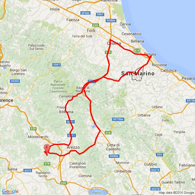 20160714_ToscanaTourNo.4: San Marino-Rimini