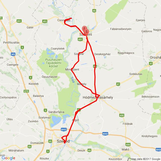Szentes-Szeged-Körös