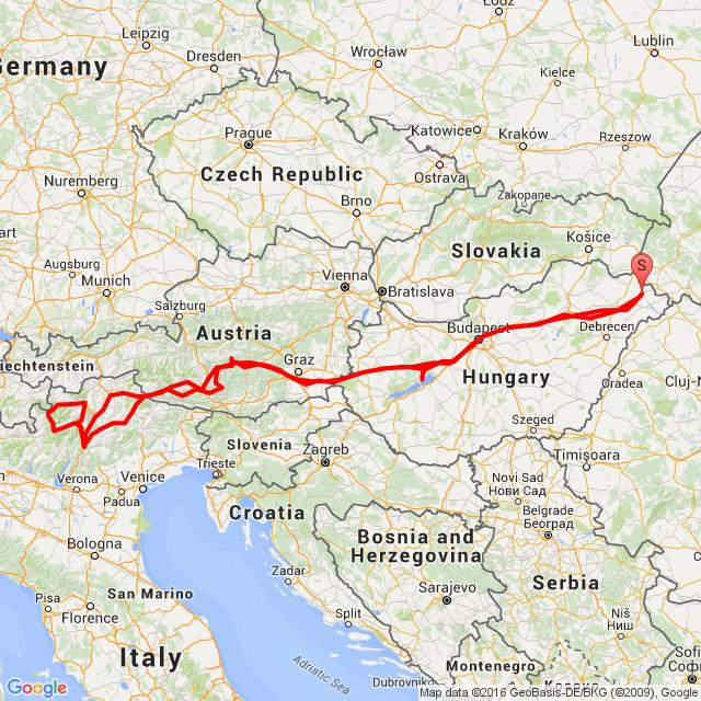 Ausztria Olaszország Hágóról Hágóra