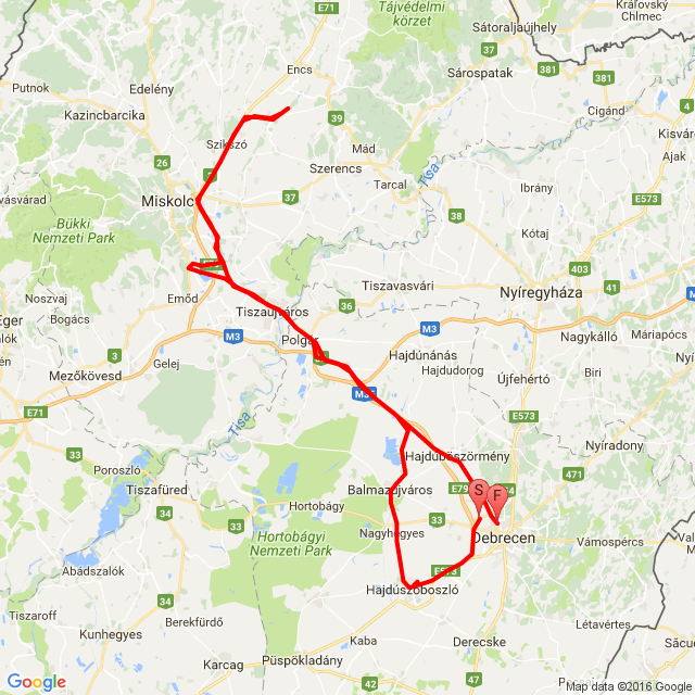 Debrecen - Felsődobsza