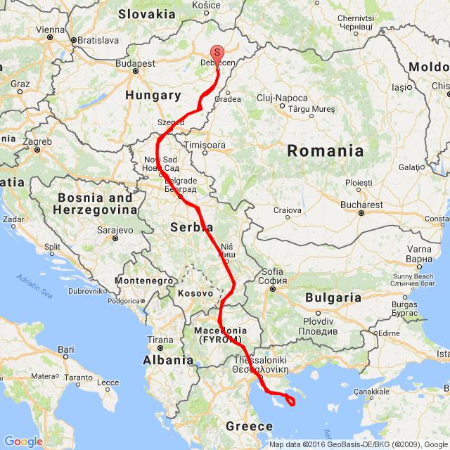 Görögországi nyaralás 2016.08.12-28