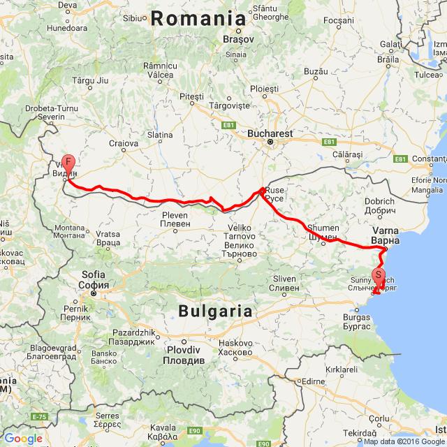 Bulgária haza