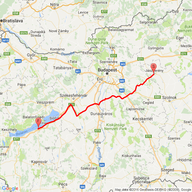 2016.08.17. Balaton odaút.