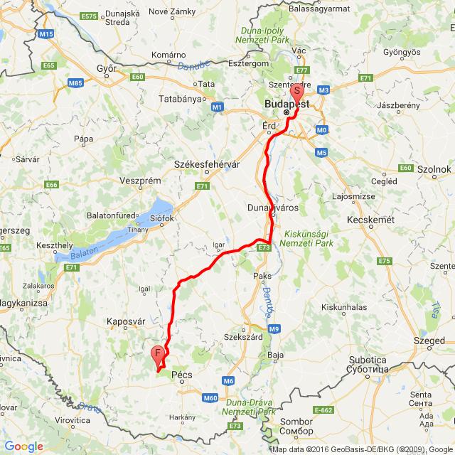 Budapest - Hetvehely