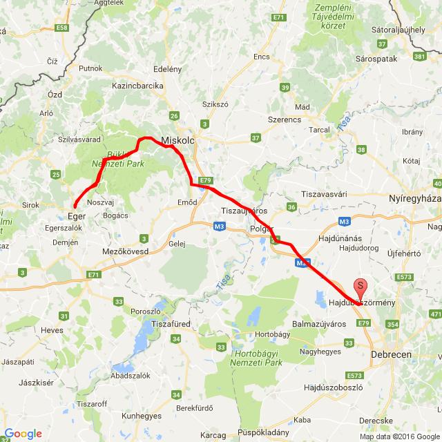Debrecen-Lillafüred-Debrecen