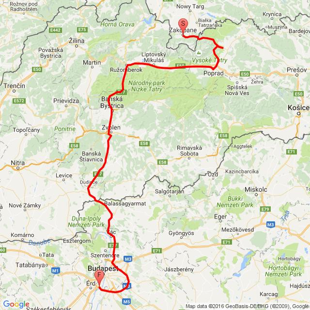 Zakopane-Budapest