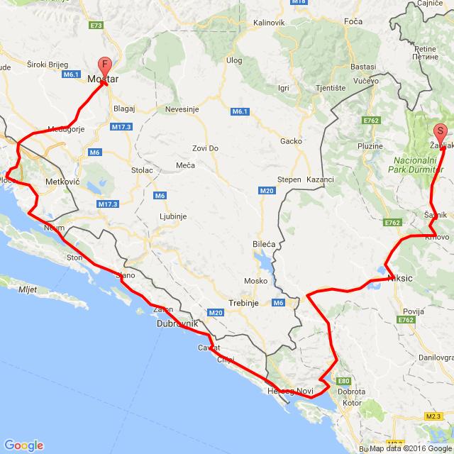 Žabljak-Mostar