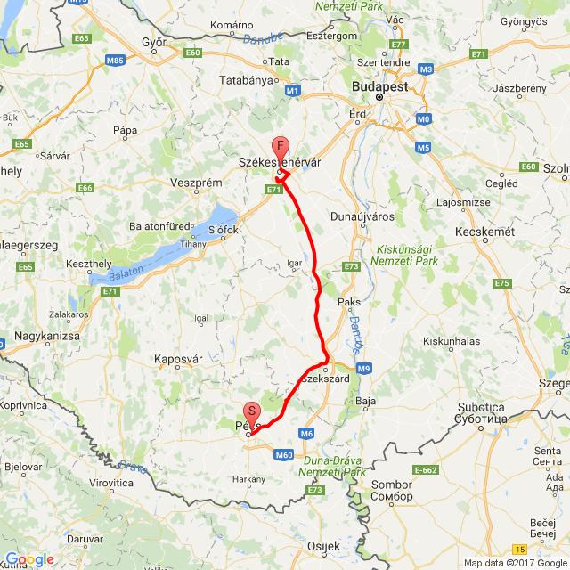 Pécs - Szfvár 2017.03.14