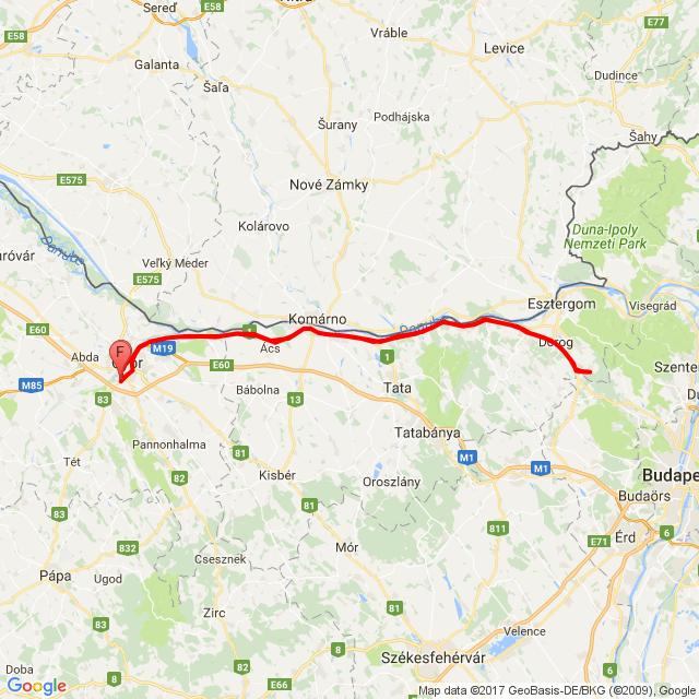 Győr-Piliscsév....Hugiékhoz...☺