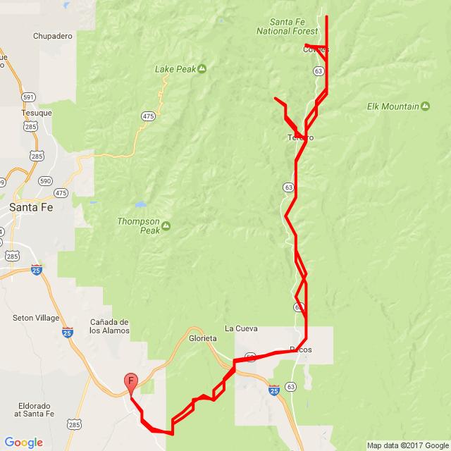 20170422 Pecos Canyon