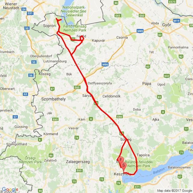 20170501 Keszthely-Fertő tó-Cserszegtomaj
