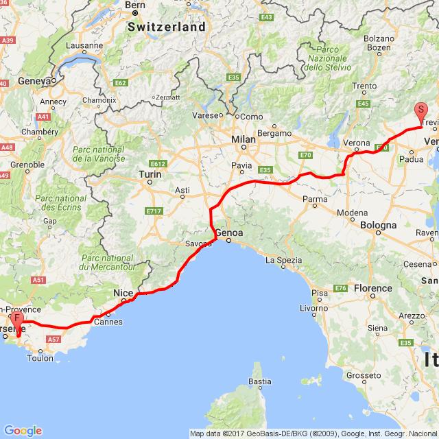 Velence-Monaco-Marsielle