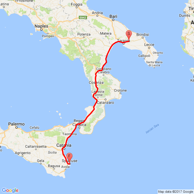 Mission To siracusa