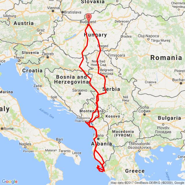 Balkán kimaxolva