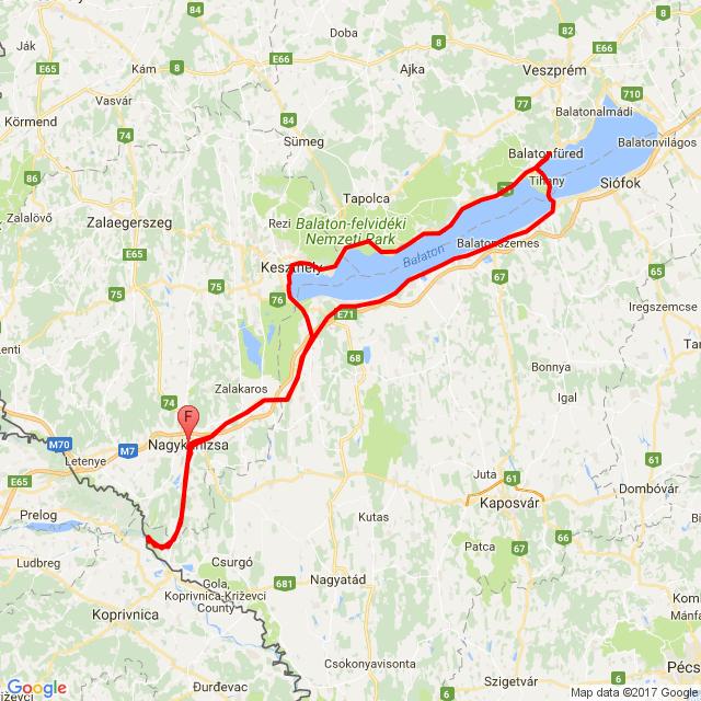 20170610 - Motoros felvonulás Balatonfüred