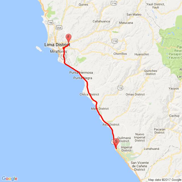 GZ150 Bikers Lima - Rodada a Cerro Azul