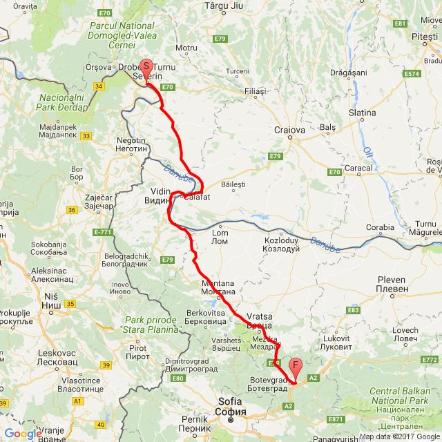 Bulgária elektromos rollerrel második nap