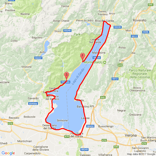 Garda-tó körül