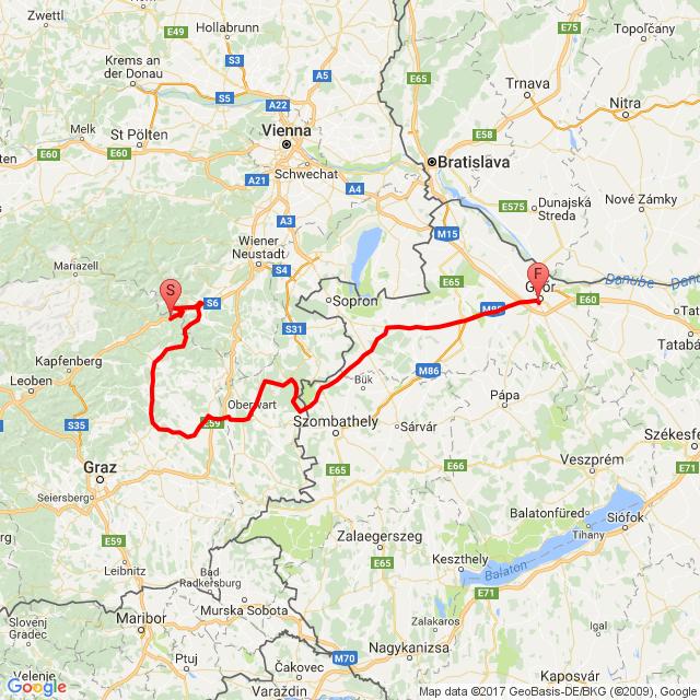 Motorcyclean Austria Puntigamer tour II.
