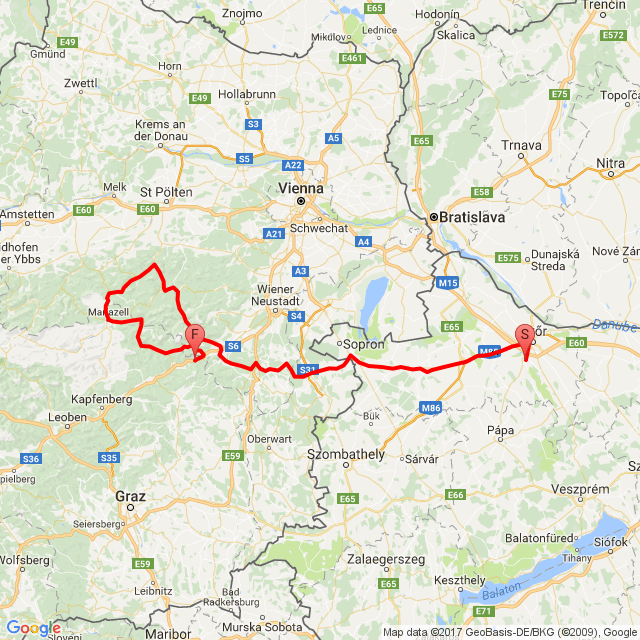 Motorcyclean Austria Puntigamer tour I.