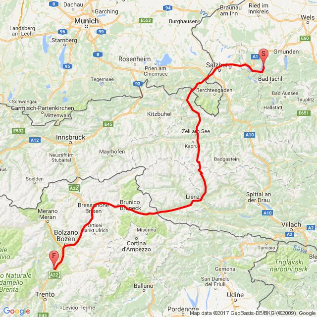 dzień 3 Niemcy Austria Włochy