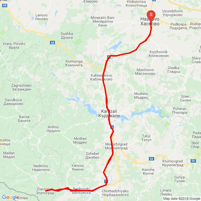 Haskovo - Zlatograd