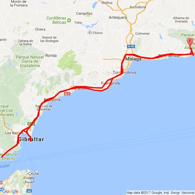 Tarifa -Gibraltár