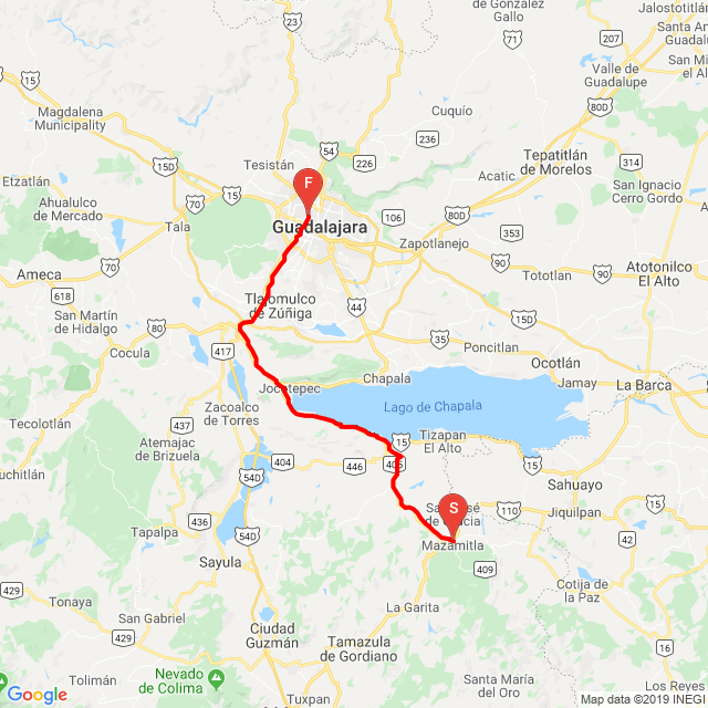 Mazamitla a Guadalajara 20171231_124820