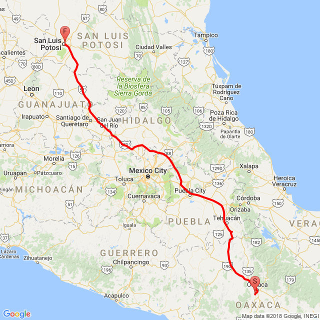 viaje a torreon coahuila 2017