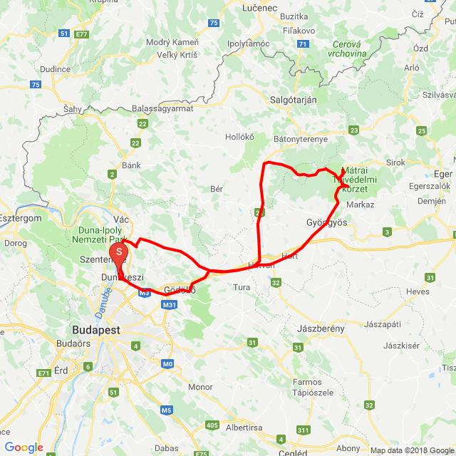 Sástó-Kékes-Galya