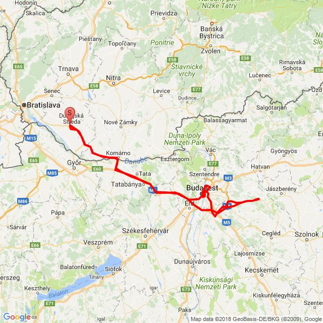 Budapesti Szezonnyitó motoros gurulás