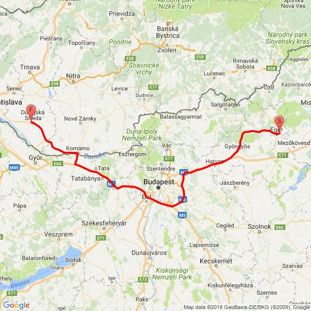 Egerről a hazaút: 3.nap