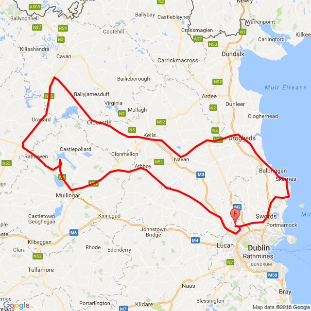 Trim - Mullingar - Drogheda