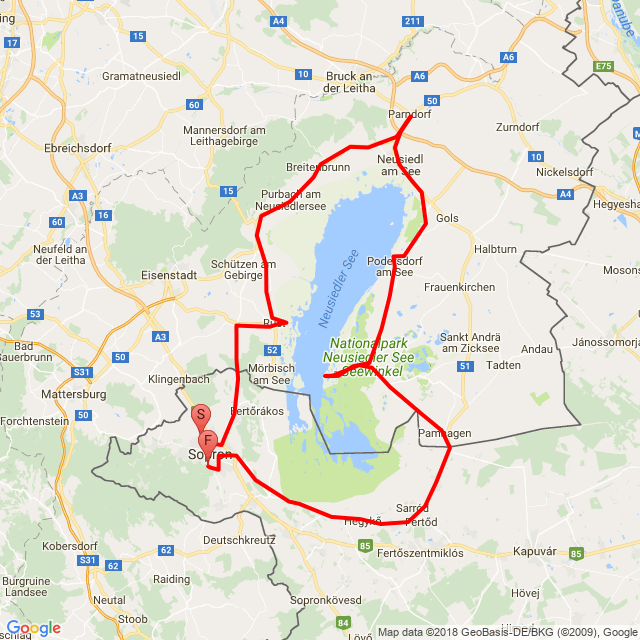 20180527_Fertő tó kerülő