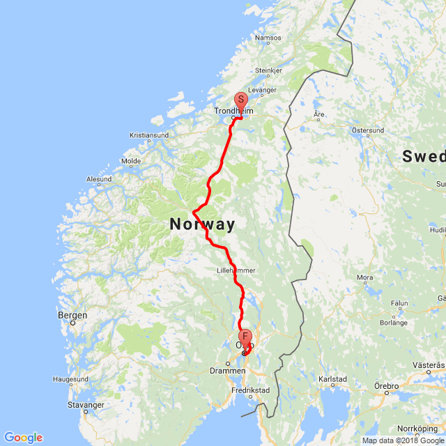 Oslo navrat domu 10 den