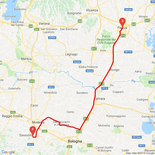 Padova-Maranello