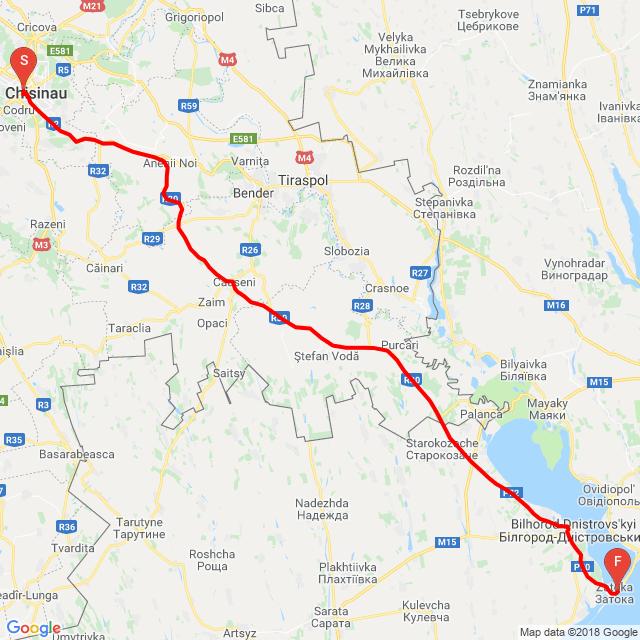 20180727 Expedice Horilka - Kišiněv - Zatoka