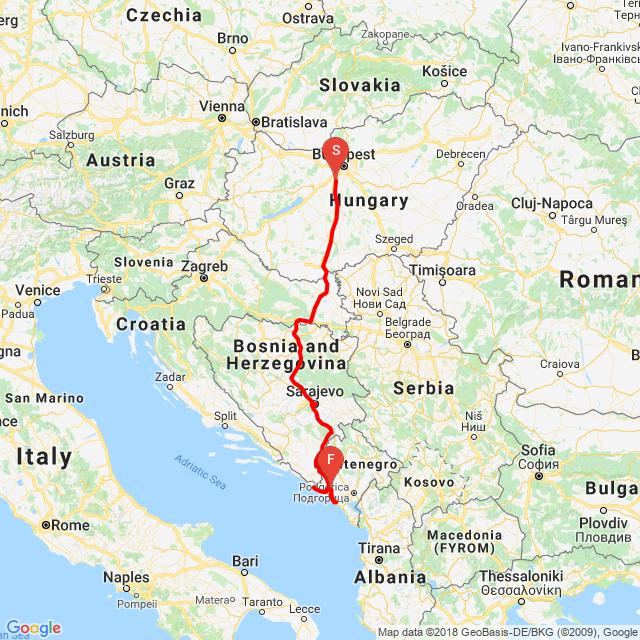 20180808_Szarajevó -Kotor